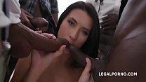 Nicole Black gets Balls Deep Anal and DAP, Gapes