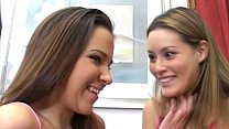 Two younger teens double blowjob thumbnail