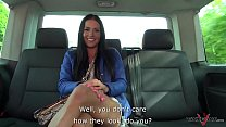 Black hair beauty waiting for her prince in van to eat all is his cum pornhub video