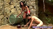 Ts Mistress Has An Obedient Submissive