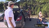 Caprice Jane Stuck and stranded porn HD