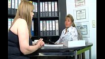 Mature fatty fu cked from behind in office d in office