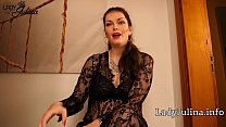 German Mistress Lady Julina Milking Prostate Massage with Lovense Edge Remote Toy
