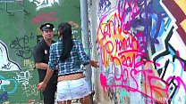 Babe Busted By The Cops And Punished Hard thumb