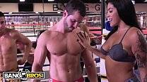 BANGBROS - Working Out With Rose Monroe, Holly ...