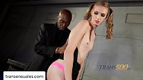 Ms. Laci Lambs meets Sean, a black man with a big tool