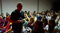 Sex Coaching on Stage with Pamela and Jesús. Sexual Healing