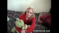 Lisa Parks is a delightful 19 year old blonde  wit porn image