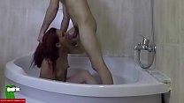 Fucked in the round bathtub. SAN082