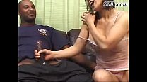 Asian girl fucks a black dude