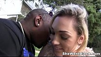 Hot Blonde Lily Labeau Anal Fucked