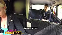 Female Fake Taxi Hot blonde sucks and fucks Czech cock in taxi thumbnail