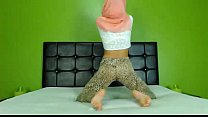 10477 Sexy Arab Hijab girl twerking ass on cam - See more at EliteArabCams.com preview
