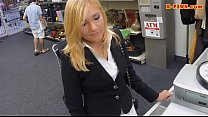 Sexy milf desperate for money gets boned by nasty pawn guy thumbnail