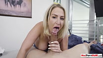 Chubby MILF Quinn Waters offering taboo fuck exchange stepsons silence