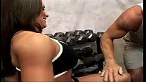 Fitness MILF Kristine Madison Threesome video