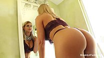 Brooklyn Chase teases's Thumb