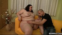 He Explores  Her Fat Pussy Then Fucks