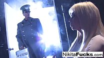 Russian Kosmonaut Nikita Von James gets a gag order from her general