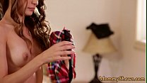 Seductive teen rims her stepmommy preview image