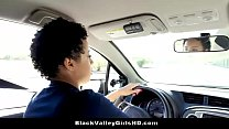 Chocolate Skin Teen Slut Rides Her Driving Instructor For Test Pass - 9Club.Top