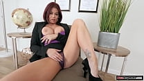 Redhead milf gets banged by her stepson
