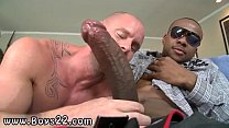 Straight black men jerking group gay monster bone deep throat