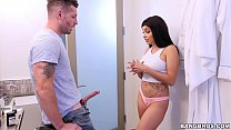 BANGBROS - Step Brother Goes Deep in Aaliyah Ha... thumb
