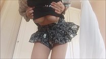 17988 sensuality mixed with bad smell ... I masturbate under my skirt while farting preview