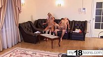 18593 MY18TEENS -  Two Couples Hard Rough Group Sex and Real Orgasm preview