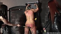 Jayne's Pleasure and Pain - Double Domination of Blonde Sub