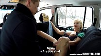 Czech Mature Blonde Hungry for Taxi Drivers Cock صورة