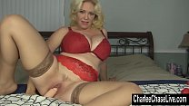 Toy Time for Blonde Big Tit MILF Charlee Chase