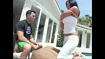 Sandra Romain has the perfect ass and loves to get it pumped