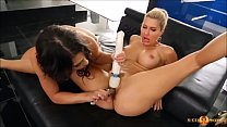 Savana Styles Shares Dildos with Taylor May