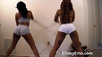 Ebony Booty Shaking