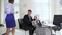 Stud Fucked Real Hard lana Seymour in the Office pornhub video