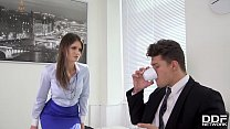 Stud Fucked Real Hard lana Seymour in the Office's Thumb