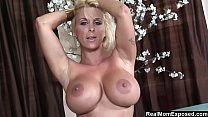 Big Tits Blonde Perfectly Drains A Cock