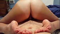 reverse cowgirl with lovely ass and feet ⁃ [nepali chikeko katha] thumbnail