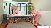5370 Competitive masseuses lick teen client preview