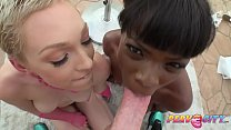 PervCity Cumswap Threesome Ana Foxxx and Lily Labeau