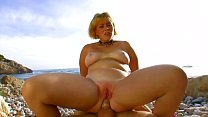 Dickxy Cats is a beautiful blonde milf fucked on the beach