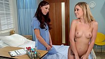 Image: GIRLSWAY - School Nurse Does Full Exam On An Inked Student - Aidra Fox and Kali Roses
