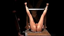 Extreme torture, whipping and destruction of her breasts صورة