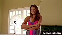 Allie Haze Slides Her Pussy up and down His Dick till Cum Fills Her Face