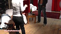 Wild czech MILF fucks with younger guy at the CASTING [체코 czech]