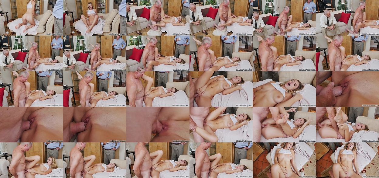 Blonde hardcore anal molly earns her keep