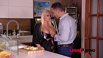 Enormously big tits of busty Jordan Pryce make his dick cream loads of cum GP218 Preview