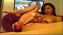 Parents not at home while she is masturbating Part 1- Signup at CAMGIRLZZ.COM for PART 2